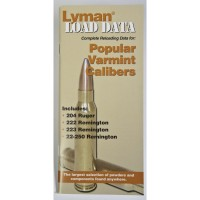 Lyman Load Data Book Popular Varmint Calibers