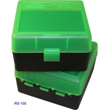 MTM Case-Gard Hinge Top Ammo Box 100 Rounds 22-250 Rem, 243 Win, 308 Win