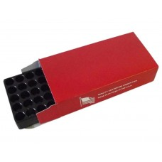 Top Brass Red Ammunition Box #4 w/50 Rnd Tray 25 pack .45 ACP / .40 S&W / 10MM