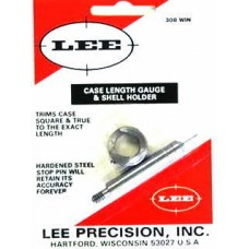 Lee Precision Case Length Gauge & Shell Holder .308 Winchester