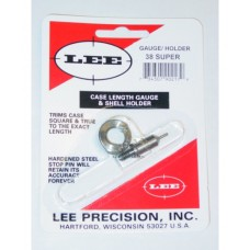 Lee Precision Case Length Gauge & Shell Holder .38 Super