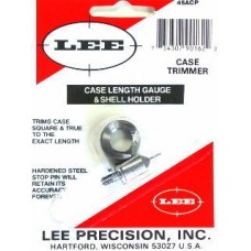 Lee Precision Case Length Gauge & Shell Holder .45 Automatic Colt Pistol