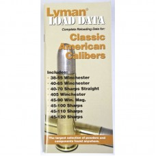 Lyman Load Data Book Classic Rifle Calibers