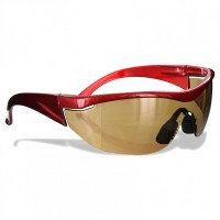 Rugged Blue Navigator Safety Glasses Amber