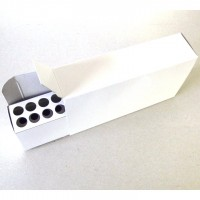 Top Brass #10 White Ammo Box with #09 20 Rnd Tray 5 pack