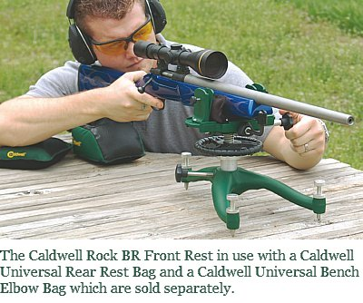 The Caldwell Rock Br Front Rest In Use