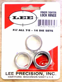 Package of three Lock Rings