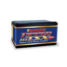 "Barnes Tipped Triple-Shock X Bullets .265 Caliber .264"" Diameter 120 Grain Spitzer Boat Tail box of 50"