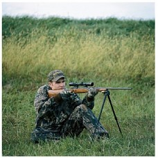 Caldwell Shooting Bipod, Sitting Model - Black