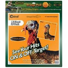 Caldwell Orange Peel Turkey Target: 12 5 sheets