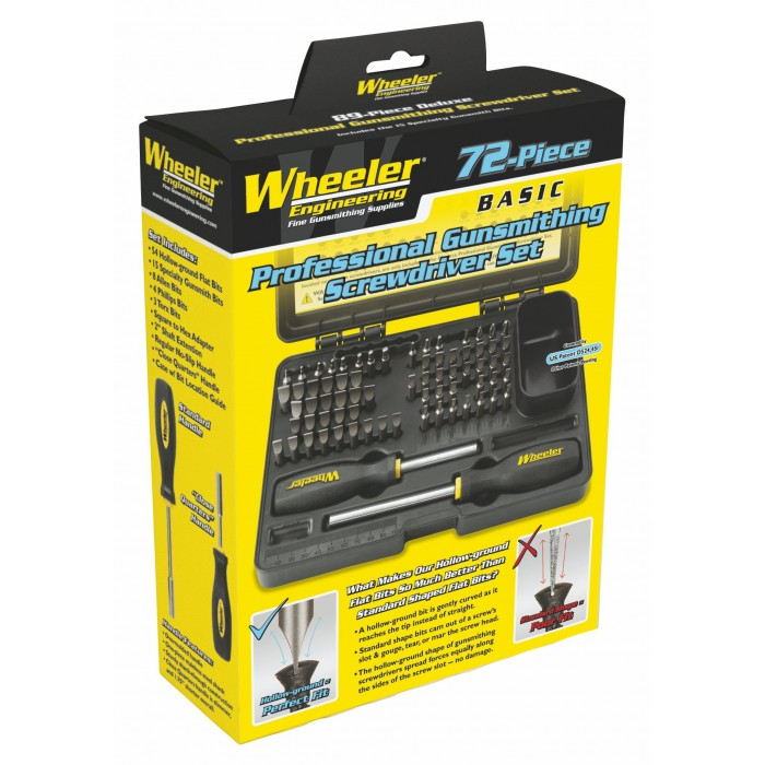 wheeler engineering professional gunsmithing screwdriver. Black Bedroom Furniture Sets. Home Design Ideas