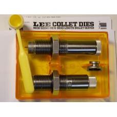 Lee Precision Collet 2-Die Set 6mm Remington