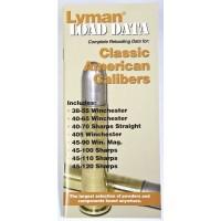 Lyman Load Data Book Classic Rifle Calibers