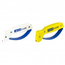 AccuSharp and ShearSharp Knife And Tool Sharpener Combo Yellow/White