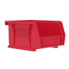 Akrobin 30210 Stackable Storage Bin 5-3/8 x 4-1/8 x3 Red