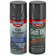 Birchwood Casey 3-Gun Scrubber, 3-Gun Oil, Value Pack, Aerosol, 10oz, 6 Cans