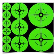 Birchwood Casey Target Spots Assortment, Green, 60-1