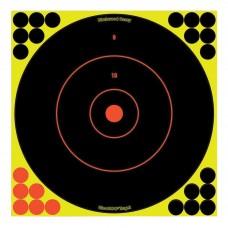Birchwood Casey Shoot-N-C Target, Round Bullseye, 12
