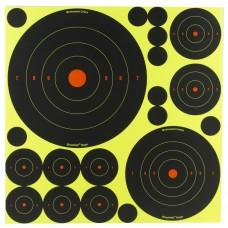 Birchwood Casey Shoot-N-C Target, Bullseye, 50-1