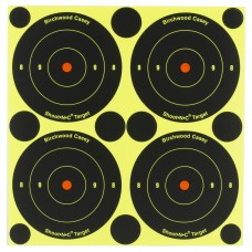 Birchwood Casey Shoot-N-C Target, Round Bullseye, 3