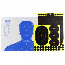 Birchwood Casey Shoot-N-C Target, Silhouette Kit, 2-12