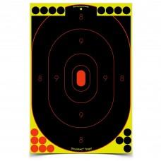 Birchwood Casey Shoot-N-C Target, Silhouette, 12x18, 5 Targets BC-34605