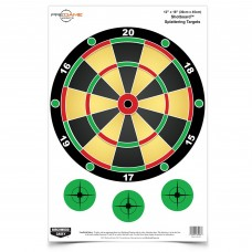 Birchwood Casey Pregame Target, Shotboard, 12x18, 8 Targets BC-35562