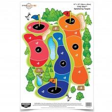 Birchwood Casey Pregame Target, Chip Shot, 12x18, 8 Targets BC-35566