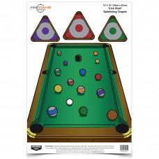 Birchwood Casey Pregame Target, Trickshot, 12x18, 8 Targets BC-35568