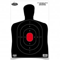 Birchwood Casey Dirty Bird Target, BC-27 Silhouette, 12x18, 8 Targets BC-35707