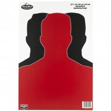 Birchwood Casey Dirty Bird Target, Silhouette III, 12x18, 8 Targets BC-35708