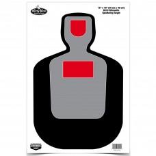 Birchwood Casey Dirty Bird Target, BC-19 Silhouette, 12x18, 8 Targets BC-35717