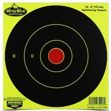 Birchwood Casey Dirty Bird Target, Round Bullseye, 6