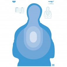 Birchwood Casey Eze-Scorer Target, Transitional Blue Paper, 23X35, 100 Targets BC-37024
