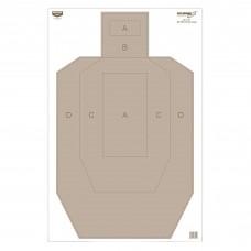 Birchwood Casey Eze-Scorer Target, IPSC Practice Paper, 23X35, 100 Targets BC-37025