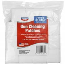 Birchwood Casey Cleaning Patches, 1 3/4