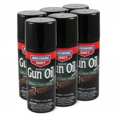 Birchwood Casey Synthetic Gun Oil, Aerosol, 10oz, 6 Pack BC-44140