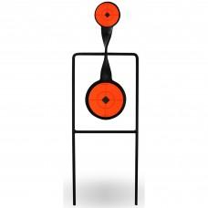 Birchwood Casey World of Targets Sharpshooter Spinner Target, .22Dual Action Spinner BC-46221