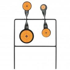 Birchwood Casey World of Targets Duplex Spinner Target, .22 Quad Action Spinner BC-46422