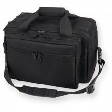 Bulldog Cases Deluxe Range Bag, Extra-Large, with Pistol Rug, Black BD905