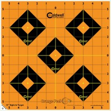 Caldwell Orange Peel Sight-In Target: 12 5 sheets