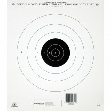 Champion Traps & Targets GB3 NRA Target, 50 Feet Pistol Timed & Rapid Fire, 12 Pack 40751