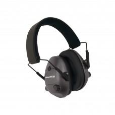 Champion Traps & Targets Earmuffs, Electronic, 25dB NRR, Plastic, Black 40974