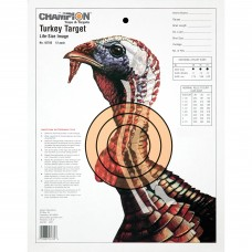 Champion Traps & Targets Life-Size Practice Target, Turkey, 12/Pack 45780