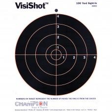 Champion Traps & Targets VisiShot Target, 8.5X11 8