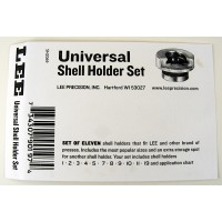 Lee Precision Instructions Universal Shell Holder Set