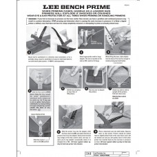 Lee Precision Bench Prime Instructions