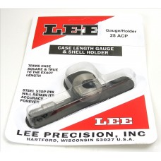 Lee Precision Case Length Gauge & Shell Holder .25 ACP