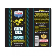 Lucas Oil Products Extreme Duty Gun Oil 8oz 12/Pack