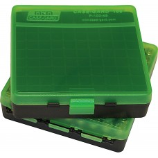 MTM Case-Gard Hinge Top Ammo Box 100 Rounds 32 H&R Mag, 38 Special, 357 Mag